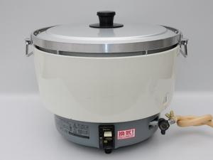 【動作品/送料無料】パロマ 業務用ガス炊飯器 PR-81DSS-1 3.0~8L(16.7合~44合) 大型 都市ガス 中古 動作OK ハイカロリー