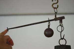 フランス アンティーク 吊り秤 6