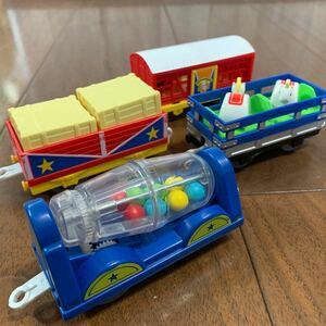 トミカ プラレール パーシーとサーカス貨車セット ゆかいな貨車シリーズ トーマス