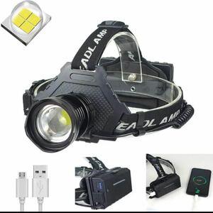 ヘッドライト 改善版 LEDヘッドランプ 最新超高輝度