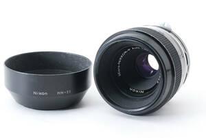 ★良品★ニコン NIKON Micro-NIKKOR-P Auto 55mm F3.5 #6049