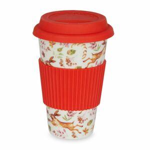 蓋付きセラミックカップ ローラアシュレイ   新品未使用