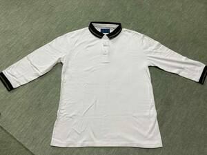 中古品【RAGEBLUE】7分袖丈位 シンプルシャツ ★ 男女共用★ 綿100% ★クリーニング済