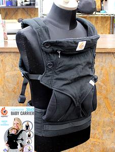 ergobaby エルゴベビー FOUR POSITION 360 BABY CARRIER ベビーキャリア 抱っこ紐 ブラック 15㎏まで 4ヵ月以上 赤ちゃん ベビー用品