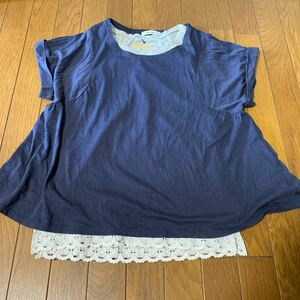 ニコアンド 半袖Tシャツ カットソー+タンクトップ