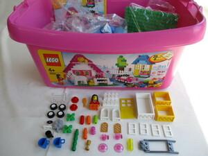 ♪レゴLEGO♪基本セット ピンクのコンテナデラックス 品番5560 インポート商品 ※パーツ確認済(欠品2ケ)