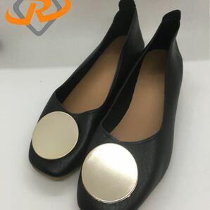 女性靴 パンプス 軽量 通気性 柔らかい底 カジュアル靴、マタニティシューズ