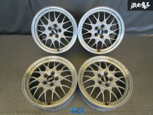 ^ selling out * Subaru original BBS 16 -inch 6.5J +55 PCD 100 5H forged FORGED mesh wheel 4ps.@ Impreza Legacy Forester BRZ