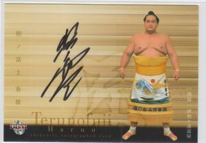 BBM2021大相撲「匠」 90枚限定直筆サインカード 照ノ富士春雄