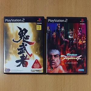 【PS2】鬼武者 【PS2】バーチャファイター4