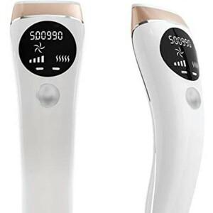 家庭用光脱毛器 (50万回5段階調節 美肌機能搭載 フラッシュ式  レディース メンズ  ヒゲ対応 ビキニライ脱毛)