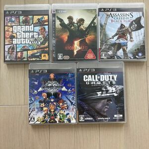 PS3 ソフト 5本セット
