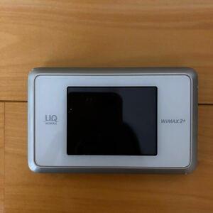 WIMAX 2+ Speed WiFi NEXT WX03 ホワイトゴールド