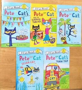 I can read!シリーズ Pete the cat  5冊セット