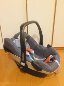 limitation color Denim blue newborn baby from OK dressing up maxi kosi baby seat pebble Pebble MAXI-COSI air buggy .. correspondence does