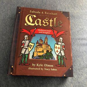 英語絵本 飛び出す絵本 仕掛け絵本 英語版 Castle