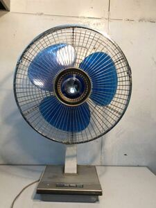 三菱 MITSUBISHI D30-H7型 昭和レトロ レトロ扇風機 当時物 貴重 アンティーク ジャパン レア 動作確認済み 現状販売 U-593
