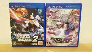 PS Vita ソフト ガンダムブレイカー2 パワースマッシュ4 2本セット