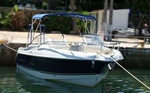 UV防水600Dマリングレード アルミボートカバー ラウンドチューブビミニ Royal Blue