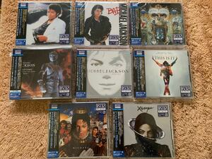 新品未開封 8枚セット 高音質国内盤Blu-spec CD2 MICHAEL JACKSON マイケル・ジャクソン Thriller スリラー Bad バッド 送料無料