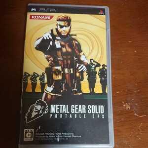 メタルギアソリッド PSP