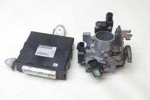 L750S Naked G turbo H11 year EF-DET AT 2WD engine computer -ECU 89560-97279 throttle body -(ISCV ) set