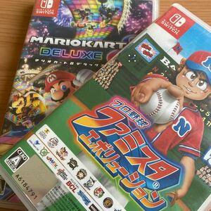 マリオカート8デラックス Nintendo Switch ファミスタ ニンテンドースイッチ ゲームソフト スイッチ