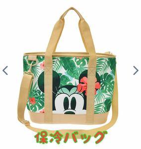 新品 ミッキー&ミニー クーラーバッグ 2WAY 保冷バッグ トートバッグ
