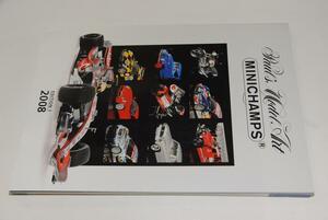 ミニチャンプス 2008総合カタログ レーシングバイク / F1 / レーシングカー /ロードカー / 等