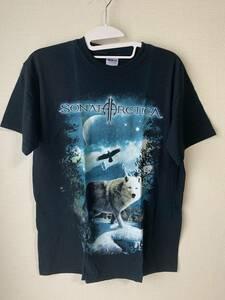 0517-012 正規品 Sonata Arctica ソナタ・アークティカ 服 メタルTシャツ ロック Tシャツ トップス Mサイズ