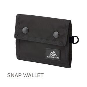 GREGORY SNAP WALLET グレゴリー スナップワレット ブラックバリスティック HDナイロン 新品