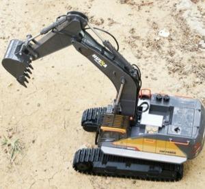 s1746 ビッグサイズ 1:14 1592 rc合金ショベル 22CHビッグrcトラックシミュレーションショベルリモート制御車両