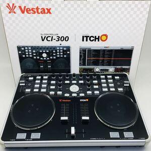ベスタクス DJコントローラー Vestax DJ controller VCI-300 ☆ 通電確認済み USED ☆