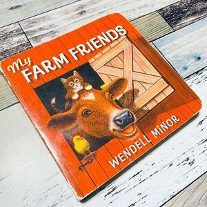 洋書 英語 絵本 ボードブック my FARM FRIENDS