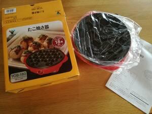 新品 未使用 調理 たこ焼き 自宅で たこやき ホットプレート