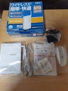 1円~売り切り NFC トリプルワイヤレスブロードバンドルーター ワイヤレスが簡単快適 WR6670S 210529232