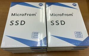 新品未使用 Microfrom SSD512GB 10個セット 送料無料 保証3ケ月