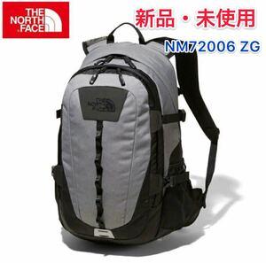 ※新品・未使用 THE NORTH FACE ノースフェイス ホットショット リュック NM72006 ZG