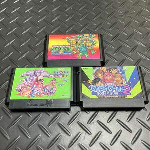 ファミコンソフト アクション3本セット 任天堂 コナミ