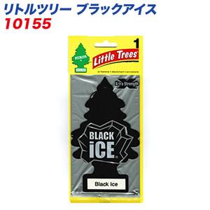 (メール便対応)バドショップ:LittleTrees エアーフレッシュナー 吊り下げ式芳香剤 ブラックアイス 消臭/10155
