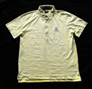 ●ルコック ゴルフの半袖ポロシャツ L