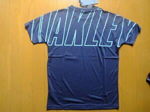 オークリー メンズS (US-XS)紺 吸汗 速乾 Tシャツ FOA400157 新品 定価3500