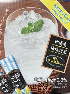 日東紅茶 塩とライチ 粉末清涼飲料 30袋
