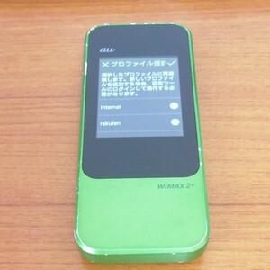 【Rakuten UN-LIMIT設定済】AU Speed Wi-Fi NEXT W04 WiMAX 2+ SIMフリー