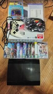 PS3 本体 RPGソフト12本 攻略本 おまけに格闘対戦ソフトとアクセサリー