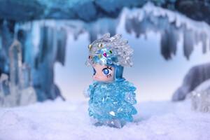 KENNYSWORK x INSTINCTOY × POP MART Erosion Molly Costume Ice Lipuid インスティンクトイ モーリー フィギュア
