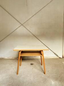ビンテージ 木製 デコラトップ センターテーブル ミッドセンチュリー レトロ モダン ローテーブル ミッドセンチュリー モダン 北欧
