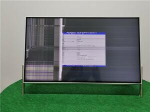 FMV FUJITSU 富士通 FH56/C2   DDR4GB 液晶割れ 詳細不明 一体型  ジャンク品