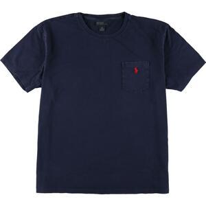 ラルフローレン Ralph Lauren POLO by Ralph Lauren ワンポイントロゴポケットTシャツ メンズL /eaa157154