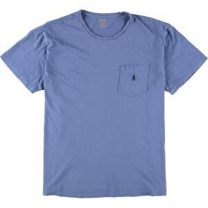 ラルフローレン Ralph Lauren POLO RALPH LAUREN 半袖 ワンポイントロゴポケットTシャツ メンズM /eaa163077